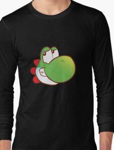 Yoshi's on a T-shirt Long Sleeve T-Shirt