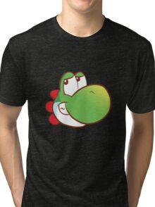 Yoshi's on a T-shirt Tri-blend T-Shirt