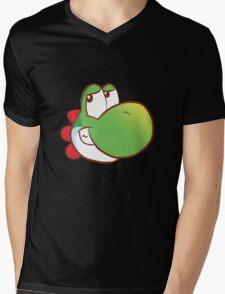 Yoshi's on a T-shirt Mens V-Neck T-Shirt