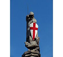 St George and the Dragon Photographic Print