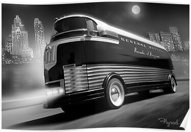 The Futurliner, Detroit 1940 by flyrod