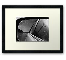 In Retrospect: Gray Areas Framed Print