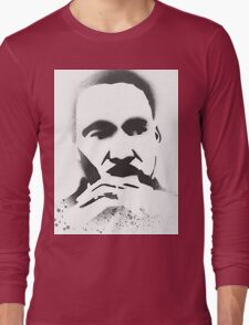MLK Spray painted Long Sleeve T-Shirt