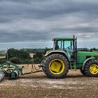 Tractor and roller by JEZ22