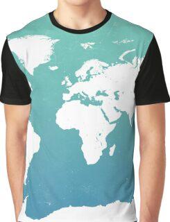 World map i water Graphic T-Shirt