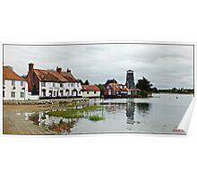 """The Saltings"",( Langston Harbour) Poster"