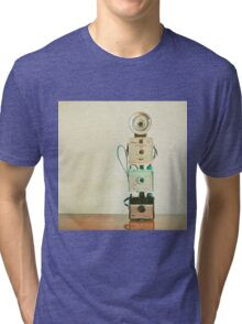 Tower of Cameras Tri-blend T-Shirt