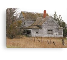 Deserted House Canvas Print