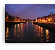 Dublin Nights Canvas Print