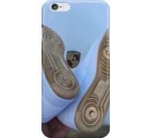 Nike Air Force 1 Blue and Gold - Lamborghini  iPhone Case/Skin