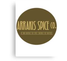 Dune - Arrakis Spice co. (version 2) Canvas Print