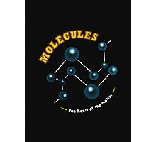 Molecules: The Heart of the Matter Photographic Print