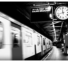 First Train to Ealing by GlynneH