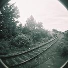 Railway track by Asrais