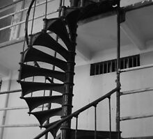 Spiral Staircase by WisePhoto