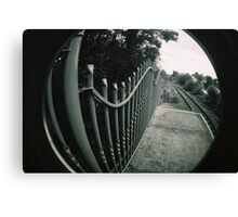 Lines and tracks Canvas Print