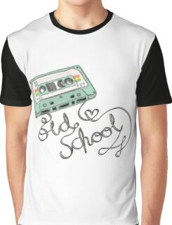 Old School is Old Cool Graphic T-Shirt