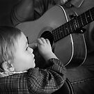 The Guitar Player by Widcat