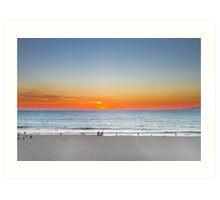 A Lighter Sunset Art Print