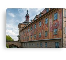 Bamberg - Old Town Hall Canvas Print
