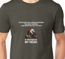 It Protects My Head Unisex T-Shirt