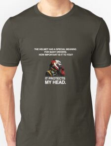 It Protects My Head T-Shirt