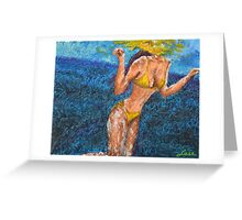 Dancing Among the Waters Greeting Card
