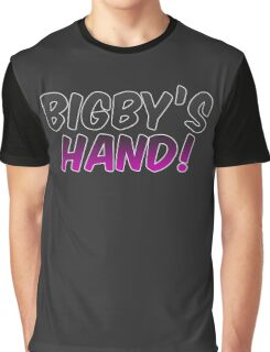 Bigby's Hand!!! - Critical Role Quotes Graphic T-Shirt
