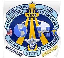 Discovery STS-128 Mission Logo Poster