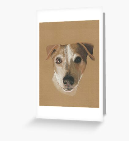 Bailey the Jack Russell Greeting Card