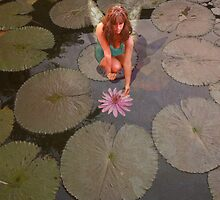 Lily pad Fairy by pattipics
