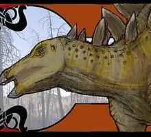 Stegosaurus Nouveau by Asher  Elbein
