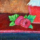 Ripened Raspberry by Luxoart