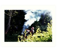 Up in Smoke Art Print