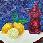 Lemon Yellow by Luxoart
