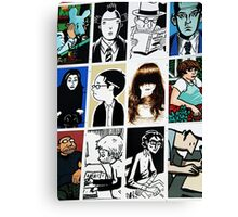 Graphic novels rule the world Canvas Print