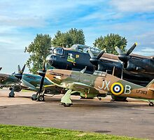 BBMF Family Group by Colin Smedley