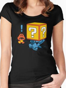 SUPER SNAKE BROS! Women's Fitted Scoop T-Shirt