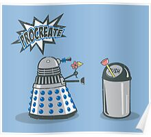 Dalek Crush Poster
