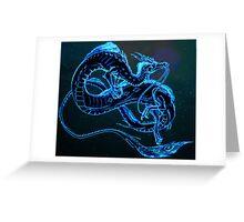 Wise Dragon Greeting Card