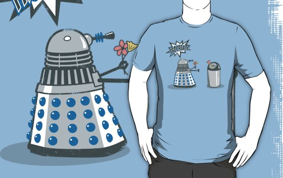 Dalek Crush by KentZonestar