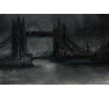 Altered, Tower Bridge/London Skyline Photographic Print