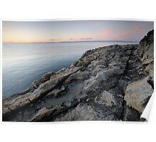Burren Coast Poster
