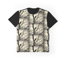 Bird in a Thorny Tree Graphic T-Shirt