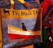 Black Dog Bag by phil decocco