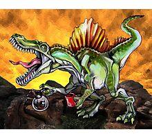 Caffeinosaurus II Photographic Print