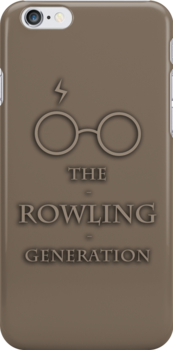 The Rowling Generation iPhone4 Case by thegadzooks