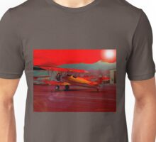 Mad Dogs and Englishmen Fly the Noonday Sun Unisex T-Shirt