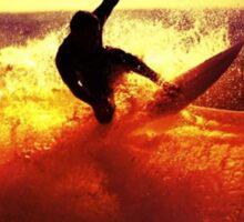 Catching Waves surf Sticker