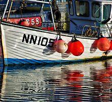Ripples ~ Lyme Regis Harbour by Susie Peek